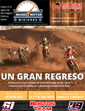 Revista N° 14 mes agosto
