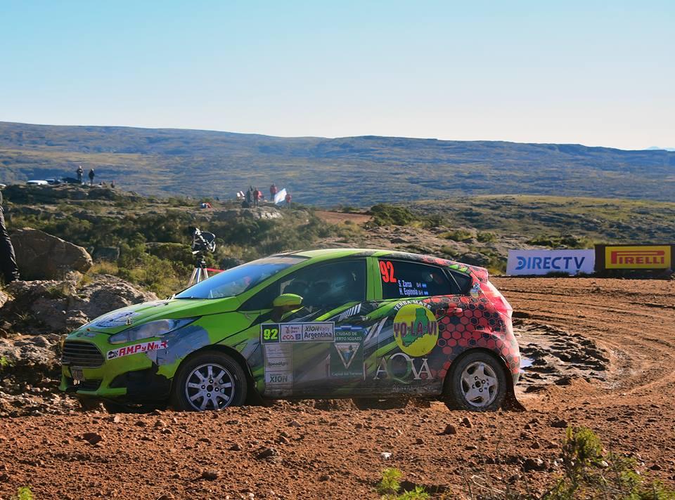Zarza-Espínola se ubica quinto en la Clase R1 del Rally de Argentina