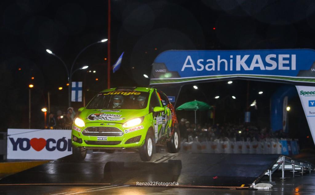La dupla Zarza-Espínola viene 3° en el inicio del rally de Argentina
