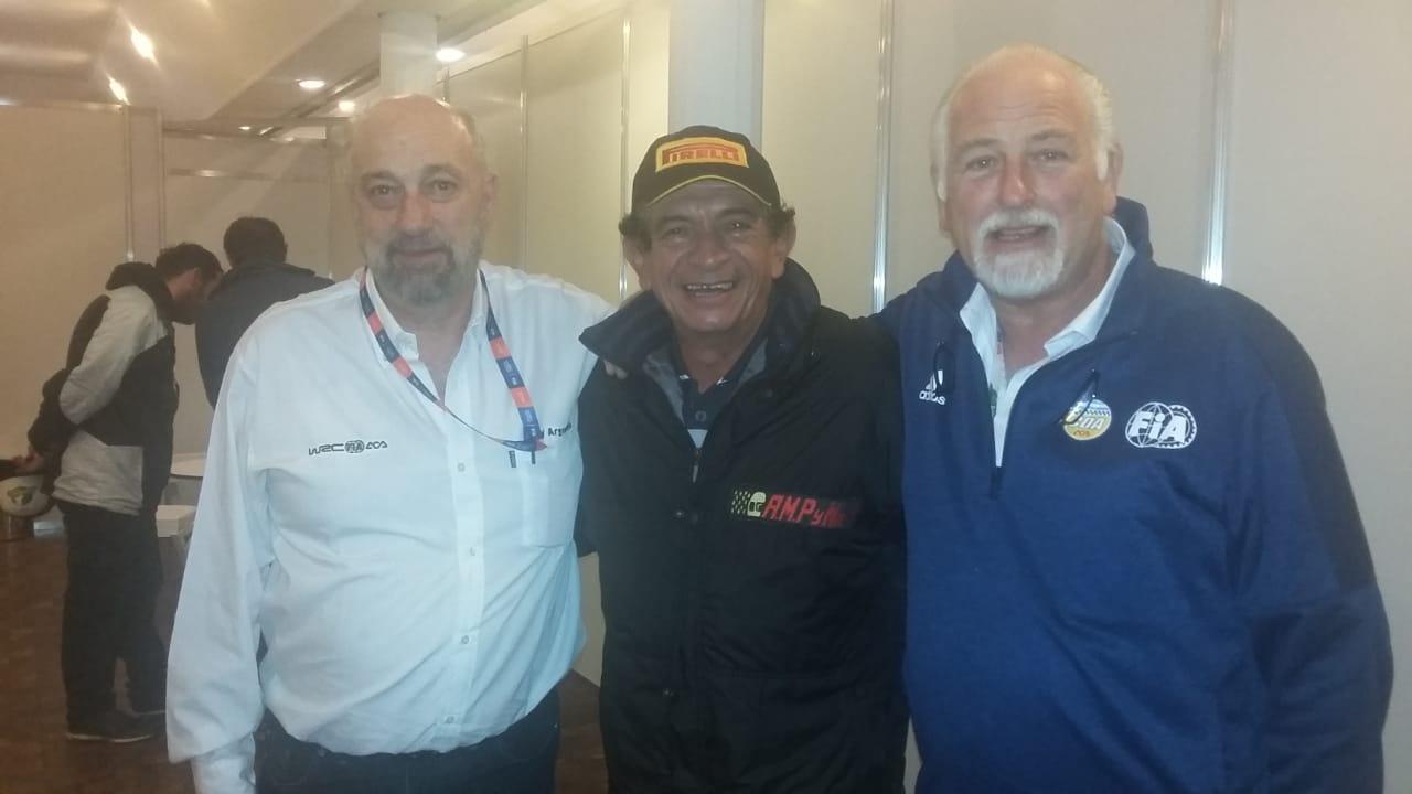 Allende se reunió con la CDA y el Rally Argentino