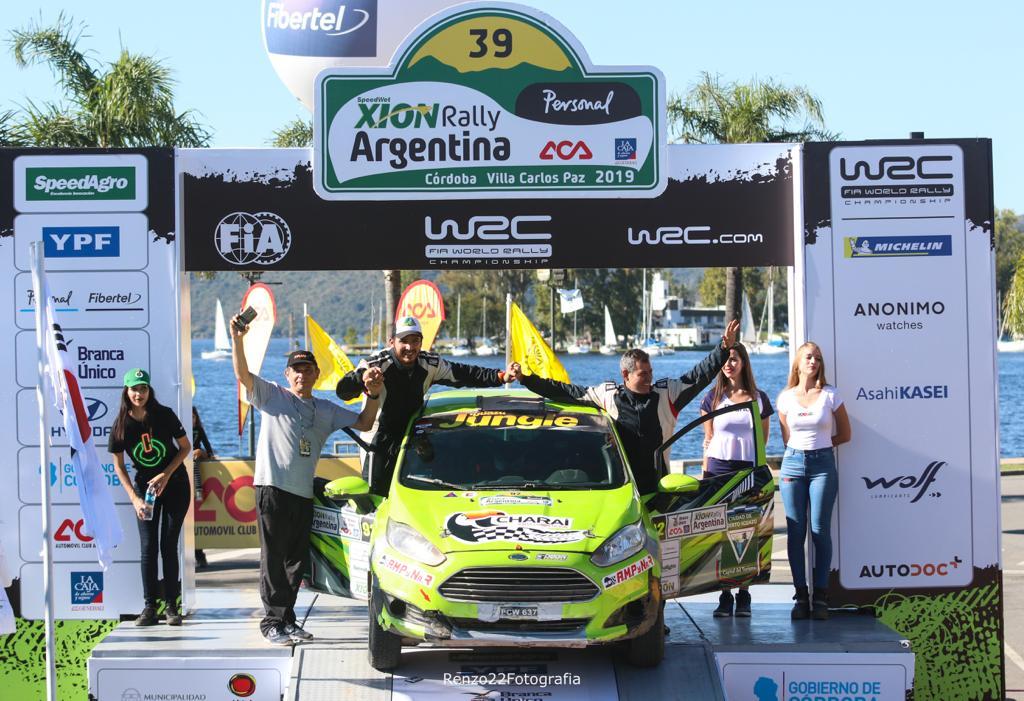 Misión cumplida para Zarza-Espínola en el Rally Mundial