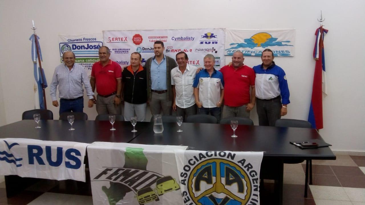 Se presentó el Rally de Alba Posse