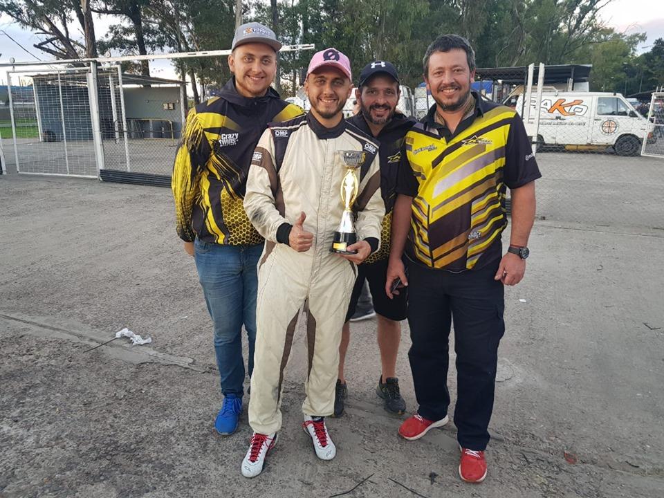 De Lima hizo podio en la cuarta fecha del Pako