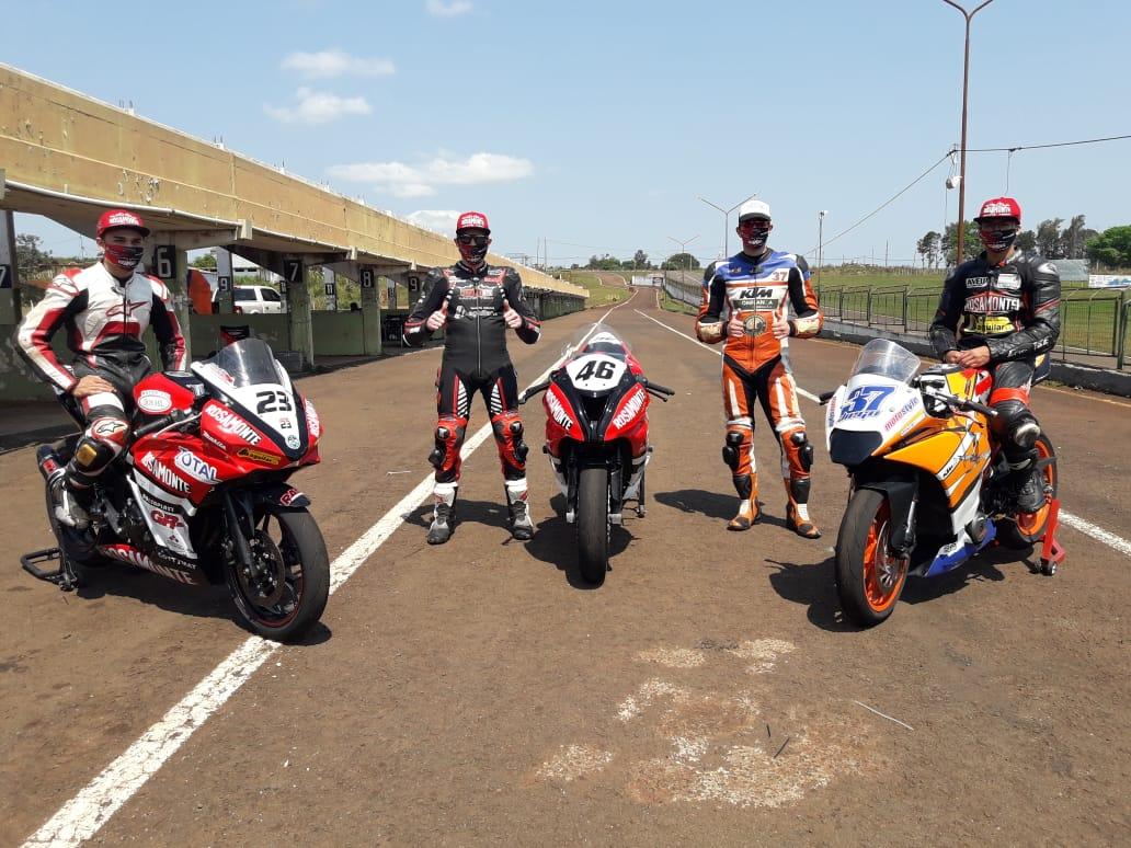 El Rosamonte Racing Team entrenó en Posadas