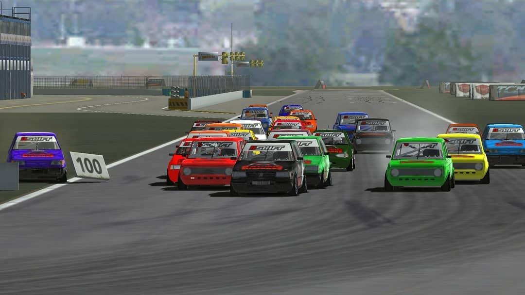 Gervasoni ganó una de las mejores carreras del Shift Racing Misiones