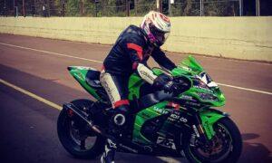 Varias motos estuvieron girando en el Autódromo de Oberá