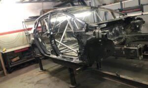 El auto de Urrutia no sirve más y el Benincasa Racing ya arma un nuevo Fiesta