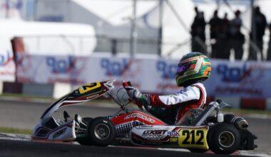 Chicho volvió a clasificar a la Final A y Mairu estará en la Final B en Lonato Italia