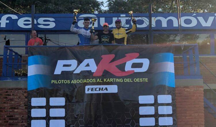 Damián De Lima sumó un podio en Arrecifes y sigue como puntero en la 150cc 4T de la PAKO