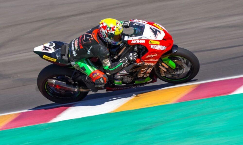 Luciano Ribodino correrá la fecha del mundial del Superbike en Argentina