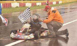 Ian Hummel se llevó la victoria en la 110cc