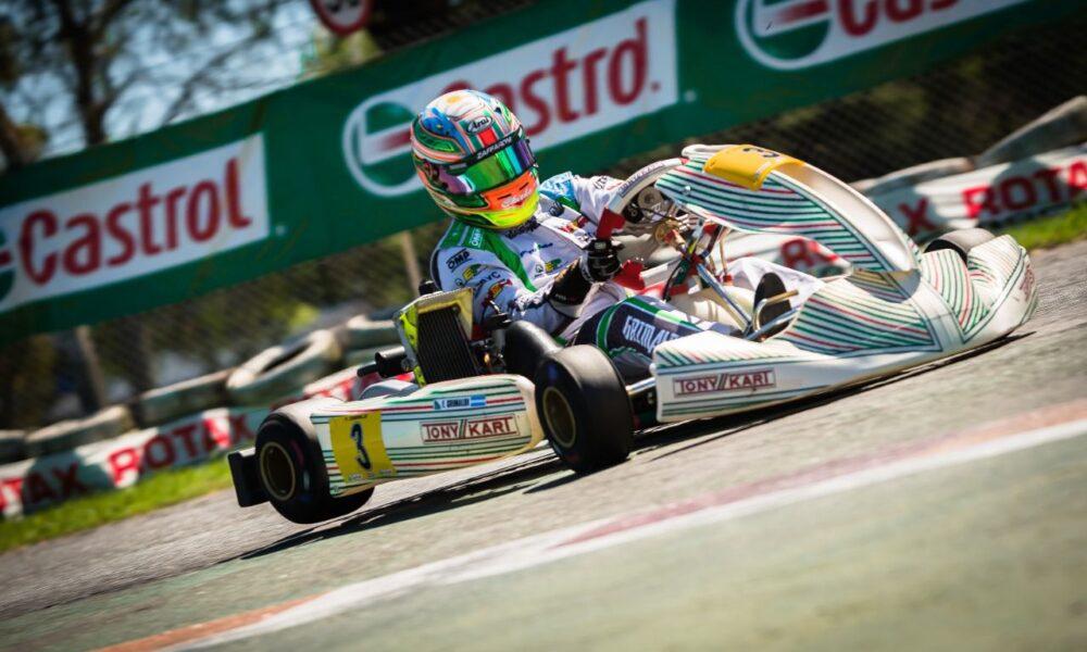 Grimaldi parte rumbo a Italia para la disputa de un nuevo Mundial de Karting