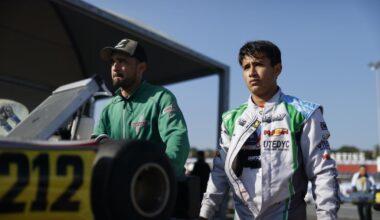Grimaldi sale a clasificar en el Mundial de Karting en Lonato Italia